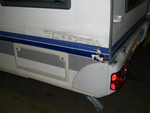 schade caravan reparatie